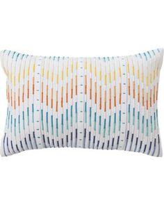 Room Essentials® Embroidered Chevron Decorative Pillow