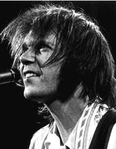 Neil Young performs at the Palladium Theater in New York City in November, 1976. Photo by Sheri Lynn Behr.