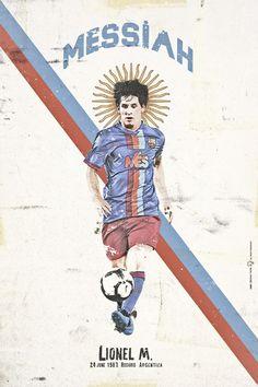 Lionel Messi - 2009, 2010, 2011, 2012