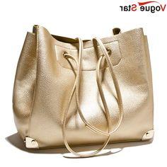 28.78$  Watch here - https://alitems.com/g/1e8d114494b01f4c715516525dc3e8/?i=5&ulp=https%3A%2F%2Fwww.aliexpress.com%2Fitem%2FLatest-Bag-Fashion-Designer-Tote-Bags-Handbags-2015-Femininas-Women-Gold-Bag-Women-Shoulder-Bags-Leather%2F32246394785.html - Vogue Star Latest Bag Fashion Designer Tote Bag Handbag 2017 Femininas Women Gold Bag Women Shoulder Bags Leather Large YK40-575