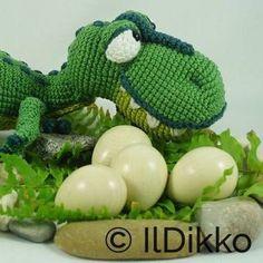 Nem IlDikko Amigurumi Pattern  T-mothy the T-rex. Have a nice 0592af3e5e1