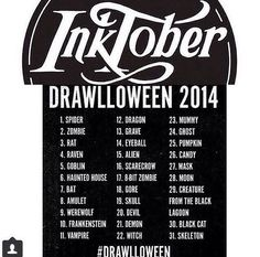 inktober list - Google Search
