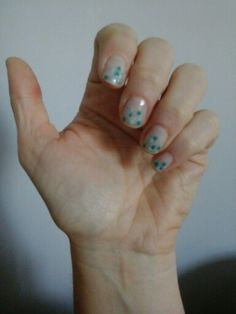 Ongles petits pois turquoises Turquoise, Snap Peas, Ongles
