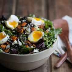 A salad full of healthy goodness.