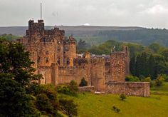 Alnwick Castle, where Harry Potter was  filmed