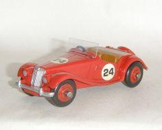 Dinky Toys - MG Midget rouge N°22