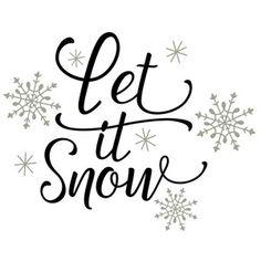 Silhouette Design Store: let it snow