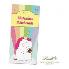 Personello Exklusive Personalisierbare Lindt Schokolade Einhorn