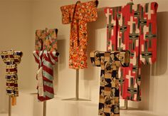 The 97 stunning kimonos include formal, semi-formal, and casual kimono, haori jackets, and undergarments worn by men,