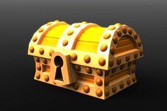 Treasure Chest, Repurposed, Ios, Games, Plays, Gaming, Game, Toys, Spelling