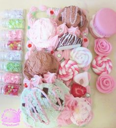 Ice Cream & Candy Decoden
