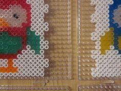 Lamp of Perler Beads - Instructions and Template Perler Beads Instructions, Perler Bead Templates, Hama Beads, Fuse Beads, Fuse Bead Patterns, Beading Patterns, Do It Yourself Lampe, Collage, Helmet