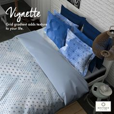#Vignette from #BoutiqueLiving offers a minimalistic and stylish palette of designs in 400TC super-soft finish! #HomeDecor #Decor #Gifts #Bedding #Luxury #Design #ThreadCount #Stylish #Art