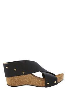 DUNE Gladley wedge sandals