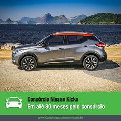 Finalmente o Nissan Kicks passa a ser vendido no Brasil. O SUV compacto chega às concessionárias no próximo dia 5 de agosto e você pode programar a compra do seu pelo consórcio! Veja: https://www.consorciodeautomoveis.com.br/noticias/nissan-kicks-em-ate-80-meses-pelo-consorcio?idcampanha=206&utm_source=Pinterest&utm_medium=Perfil&utm_campaign=redessociais