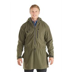 Swanndri Men's Tundra Fleece Anorak