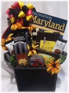 83926ffcf7ec 25 Best Maryland Theme Gift Baskets images