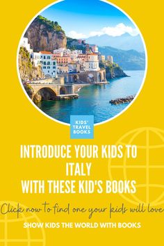 children's books about Italy that will help you plan your next family trip Travel With Kids, Family Travel, Italy For Kids, Italy Pictures, Travel Books, World Of Books, Popular Books, Chapter Books, Great Books