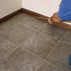 Here's a how to on the floor!    Photo: Shaffer Smith Photography | thisoldhouse.com | from 8 Easy Flooring Upgrades