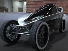 The Arrow, Electric Concept Vehicle, electric car design, Charles Bombardier, The Arrow cockpit, electric commuter vehicle, concept vehicle,...