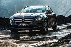 Would never ask for a red carpet to roll on the centre stage. The Mercedes-Benz GLA.