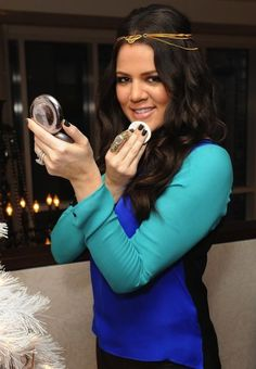 Khloe Kardashian Reveals Her Favorite Beauty Products. i only like Khloe:) shes always Real.