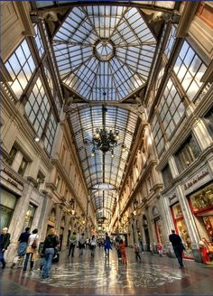 Genova - Galleria Mazzini- _______________________ -ITALIA- by Francesco -Welcome and enjoy- frbrun