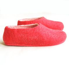 Womens Felted wool slippers Felt Slipper Relaxing Comforable Case Cold Feet 100% wool