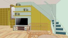Quelques travaux de la promotion Désirade Decoration, Promotion, Loft, Bed, Furniture, Home Decor, Decorating, Homemade Home Decor, Lofts
