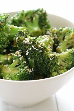 Looking for something different to do with broccoli, then this easy side dish is for you. Perfect side with salmon, cod, chicken or steak. You could even make this a meal by sauteed this with strips o