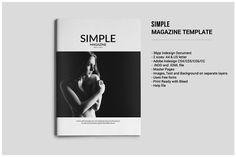Simple Magazine Template - Magazines - 1