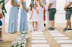 My wedding day. Beach wedding at the Westin Nusa Dua Resort Bali