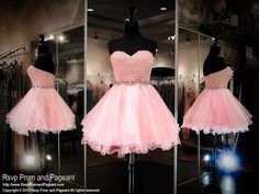 This super cute short homecoming dress features a lace sweetheart bodice with a…