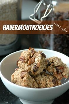 Healthy Cookies, Healthy Sweets, Healthy Dessert Recipes, Healthy Baking, Raw Food Recipes, Low Carb Recipes, Delicious Desserts, Healthy Snacks, Good Food