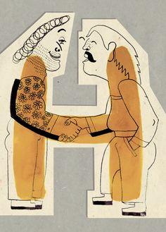 'Alfabet' by Marta Ignerska, 2011, Letter #H