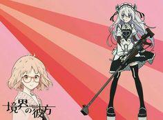 Dos personajes de anime