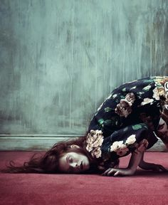 // Irina Kravchenko by Julia Hetta for AnOther Magazine S/S 2013