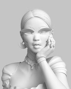 Female study intertwining elements from robotics, fashion and futurism. Cyberpunk Aesthetic, Cyberpunk Art, Creative Photography, Editorial Photography, Portrait Photography, Jr Art, Maxon Cinema 4d, Cybergoth, Wall Collage