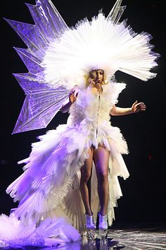 """Lady Gaga Photos Photos - Lady Gaga performs her homecoming gig in New York during her Monster Ball tour. The Alejandro singer played the massive Madison Square Garden venue for two hours singing massive hits including Telephone, Bad Romance and Poker Face. She declared """"Without New York, I would not exist. - Lady Gaga Performs in New York"""