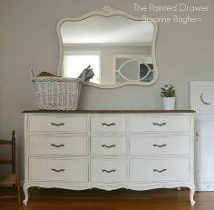 un patrimonio d'epoca Drexel ambientato in bianco, idee camera da letto, vernice gesso, mobili dipinti, riuso upcycling