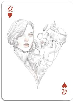 ♣ ♦ ♠ ♥ THE PLAYING CARDS SERIES by Anthony Taysub, via Behance