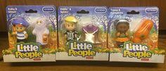 Fisher Price Little People Halloween Lot of 3: Eddie, Koby, Tessa NIB  #FisherPrice