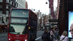 This is a double decker bus in London