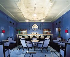 Dine! London's Blue Bar, at the Berkeley Hotel,