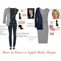 How to Dress a Apple Body Shape by charbear231 on Polyvore featuring Reiss, Faith Connexion, American Eagle Outfitters, M&Co, Miss Selfridge, 7 For All Mankind, Christian Louboutin, Oscar de la Renta, Carven and BCBGMAXAZRIA