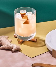 Wintry flavors meet low-proof chill in this ginger-spiced, orange-scented cocktail. Cocktail Photography, Food Photography, Product Photography, Cocktail Drinks, Cocktail Recipes, Winter Cocktails, Alcohol Recipes, Drinks Alcohol, Quick Recipes