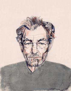 Portraits - Imogen Rockley Illustration