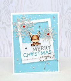 Create For Family and Friends: Merry Christmas with little Reindeer