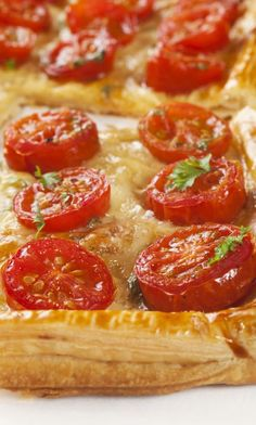 Weight Watchers Friendly Flaky Tomato and Mozzarella Tart - 9 Smart Points