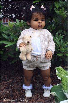 Reborn nr 150 / Private Collection Arianna R. Reborn Babies Black, African American Reborn Babies, Reborn Child, Reborn Toddler Girl, Reborn Baby Boy Dolls, Newborn Baby Dolls, Real Looking Baby Dolls, Life Like Baby Dolls, Real Baby Dolls